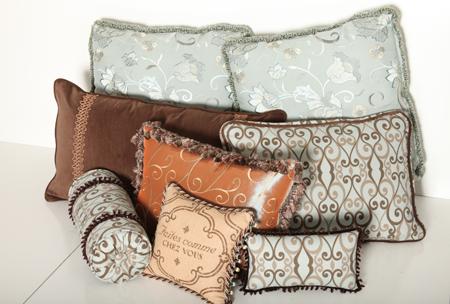 Pillows, Cushions, Fabrics, Leather