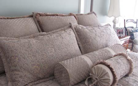 Bedding Custom Upholstery Rose